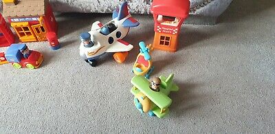Happyland Bundle, With Sounds Incl Post Office, Gift Shop, Airport And More • 4.40£
