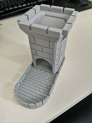 Castle Style Dice Tower - Free Shipping - Works With All Dice • 13.99£
