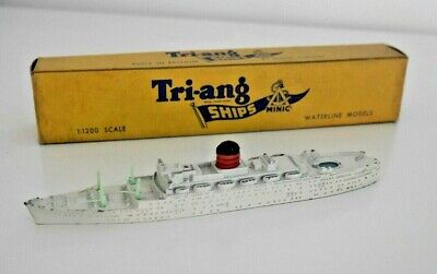 Scarce Triang Minic Ships M708 Rms Franconia Waterline Ship Very Rare Boxed I828 • 33£
