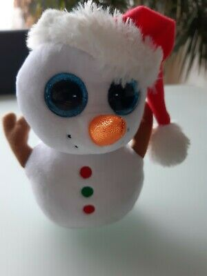 Ty Beanie Boo Scoop The Snowman 15cm • 1.20£