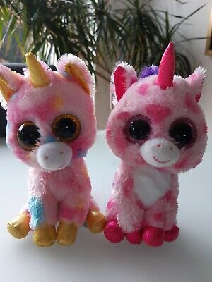Ty Beanie Boo Unicorn Bundle Of 2. 15cm Tall. Sugar Pie And Fantasia • 1.50£