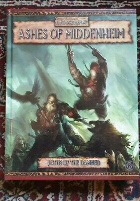 WFRP Ashes Of Middenheim Paths Of The Damned Book 1 Warhammer Fantasy Roleplay • 9£