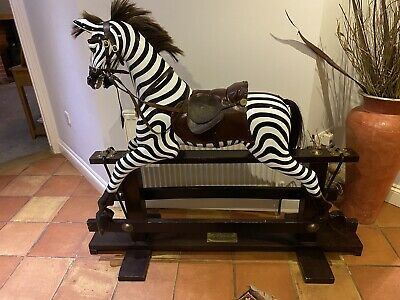 Limited Edition 24 Of 25 Millenium Rocking Zebra Collector Large Rare Horse • 995£