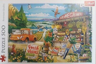 500 Piece Jigsaw Puzzle Morning In The Countryside Excellent Condition • 4.99£