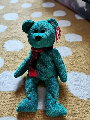 Retired TY Beanie Baby Bear Wallace The Scottish Bear - With Tag  • 5£