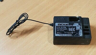 Acoms Vintage Ar227fe Receiver For Rc Car, Radio Gear, 27mhz 2 Channel • 12.99£