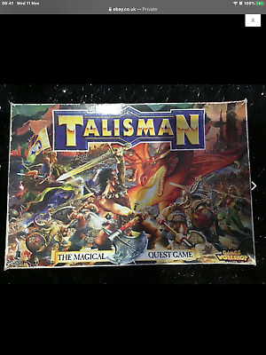 Talisman Board Game (3rd Edition) + The 3 Expansions • 1994 • VGC • Uk Seller • 125£