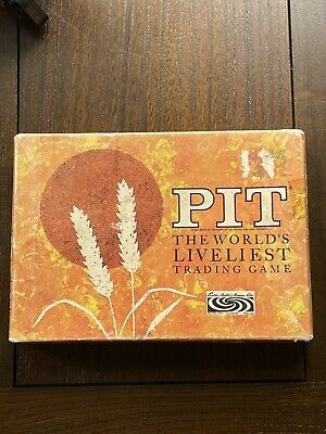 Vintage Pit Trading Game By Parker Brothers • 0.99£