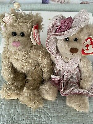 Vintage Attic Treasures Beenie Teddy Bears  • 5£