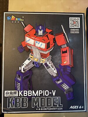 Used With One Flaw - Transformers Masterpiece MP-10 Optimus Prime KBB MP-10V • 14.99£