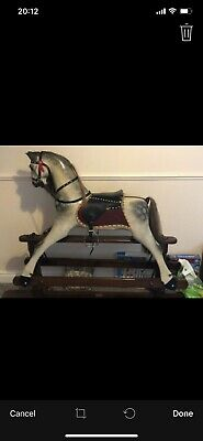 Large Wooden Rocking Horse • 200£