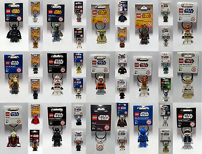 Brand New Lego - Star Wars Keyrings - BNWT - Rare --- LooK In Side ---> Free P&P • 29.95£