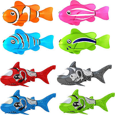 Robot Fish Robotic Robo Battery Operated Clownfish Shark Kid Toy Christmas Pet • 5.99£