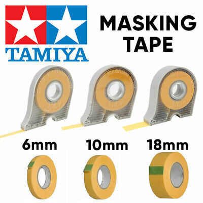 TAMIYA Masking Tape 6mm 10mm 18mm And Refills - Choose • 4.85£