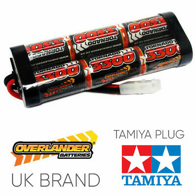 Tamiya RC Car Battery 7.2v 3300mah NiMH Rechargable Pack Overlander • 16.49£