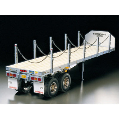 TAMIYA RC 56306 Flatbed Semi-Trailer For Tractor Truck 1:14 Assembly Kit • 213.14£