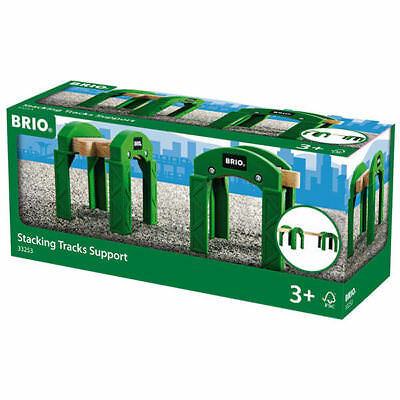 BRIO 33253 Stacking Track Supports - Box Of 2 For Wooden Train Set • 10.08£