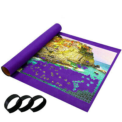 Giant Jumbo Jigsaw Roll Up Puzzle Store Storage Mat Tube Up To 3000 Pieces • 6.99£
