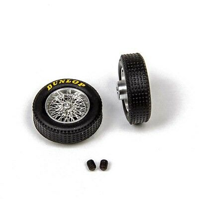 M036D Mitoos Classic Wire Wheels M026 & Classic Dunlop Tyres X2 - New • 12.99£