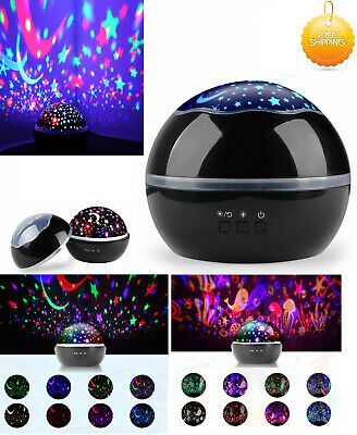 Calming Autism LED Light Sensory Toys Projector Multicolour Sky Star Lamp USB UK • 17.89£