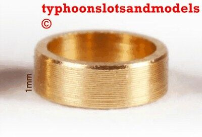 0132 SP100 Brass Spacer 1.0mm X 10 -New • 1.99£