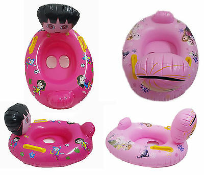 Inflatable Blow Up Childrens Kids Swimming Pool Lilo Float Dinghy Beach Toy  • 6.99£