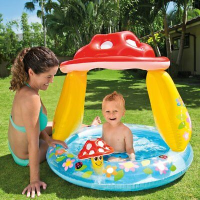 Intex Mushroom Baby Inflatable Pool Summer Sea Swim Water Beach Kids Fun  • 15.99£