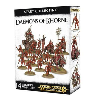 Start Collecting Daemons Of Khorne • 49.50£