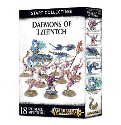 Start Collecting! Daemons Of Tzeentch • 49.50£