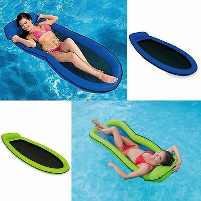 Intex Inflatable Mesh Mat Beach Pool Lounger Lilo Float Floating Sunbed Mattress • 15.45£