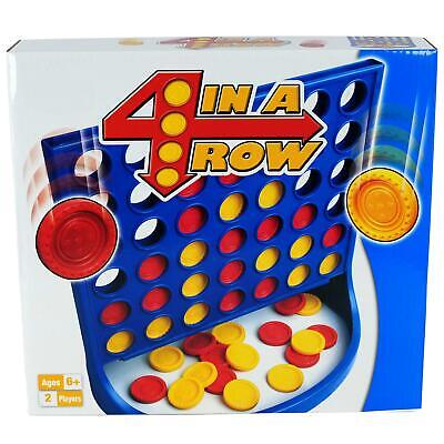 M.Y 4 In A Row Traditional Family Kids Classic Board Games Children Fun Toy • 5.49£