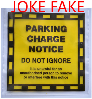 9 Fake Parking Fine Fixed Penalty Notice Joke Prank Traffic Offence Ticket Funny • 3.62£