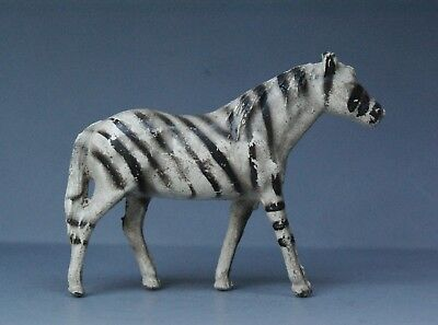 CRESCENT METAL ZOO SERIES ANIMALS  *** ZEBRA *** Superb Old Stock Example...!! • 5.99£