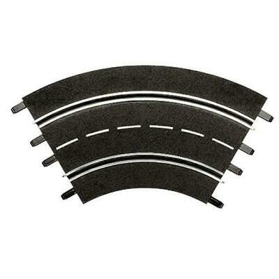 CARRERA Track Inner Curve 1/60 Pack Of 3 20571 • 42.92£