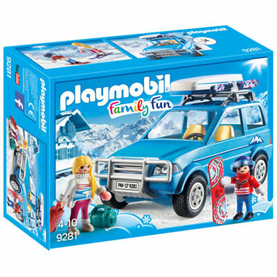 PLAYMOBIL Winter SUV - Family Fun 9281 • 20.90£