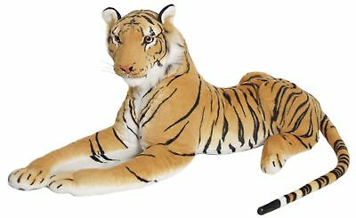 Large Giant Wild Brown Tiger Soft Plush Stuffed Animal Cuddly Toy Teddy • 36.99£