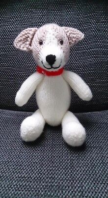 Jack Russell Puppy Dog Hand Knitted  • 17£