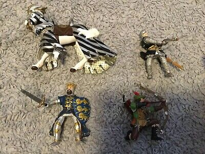 Papo Horse, King, Knight And Robin Hood • 20£