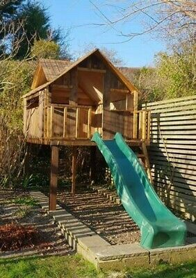Bespoke Wooden Treehouse Playhouse Climbing Frame - Any Size, Any Design • 1,400£