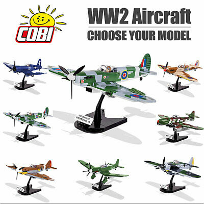 COBI WW2 Aircraft Fighters & Bombers Construction Sets - Choose Your Model • 32.36£
