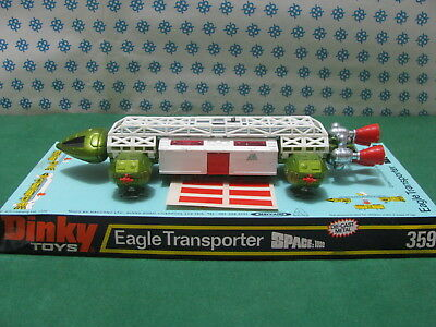 Transporter Eagle Space 1999 Gerry Anderson TV Series - Dinky Toys 359  MIB • 308.16£
