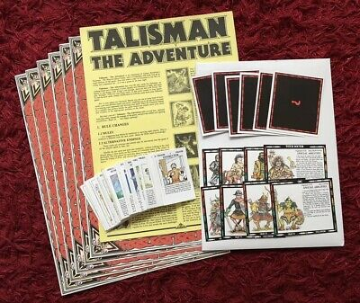 Talisman The Adventure 2nd Edition 1986 Complete Games Workshop Rare OOP • 34.99£