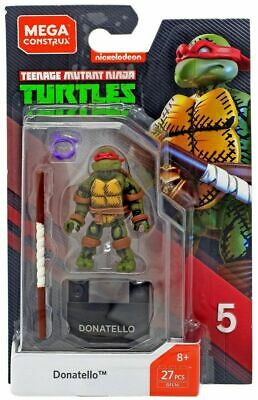 Mega Construx Teenage Mutant Ninja Turtles Donatello - New In Stock • 12.99£