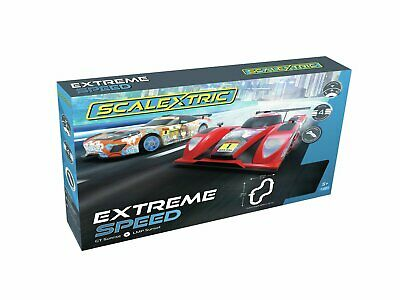 Scalextric Extreme Speed 4 Track Layouts Set 5+ Years • 80£