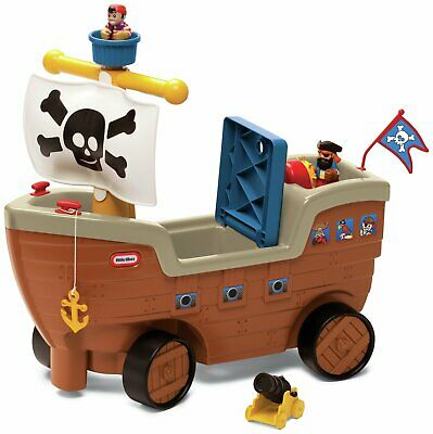 Little Tikes Play 'n Scoot Pirate Ship • 40£