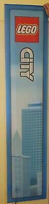 Lego City Fabric Display Banner With Hooks For Hanging ~New~ • 23.90£