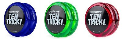 YoYofactory Ten Trick YoYo High Speed Bearing Beginner Friendly From Child/Adult • 7.49£