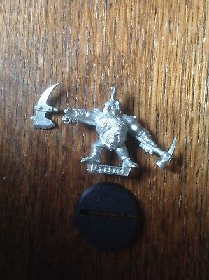 Warhammer. Mordheim Dwarf Pit Fighter, Dwarf Slayer. Metal. • 50£