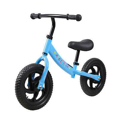 Kids Balance Bike Walking Balance Training For Toddlers 2-6 Years Old Blue Toy • 26.99£