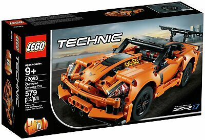 LEGO Technic Chevrolet Corvette ZR1 Rally Car Set - 42093 • 30£